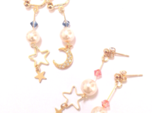 【受注販売】Moon star earring/pierce