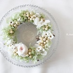 dress wreath mini...rose.×lg.